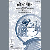 Download or print Catherine DeLanoy Winter Magic Sheet Music Printable PDF 11-page score for Concert / arranged 2-Part Choir SKU: 158421.