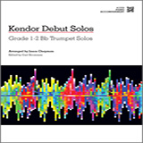 Download Chapman 'Kendor Debut Solos - Bb Trumpet - Piano Accompaniment' Printable PDF 37-page score for Instructional / arranged Brass Solo SKU: 125007.