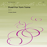Download or print Charles Steele Duet For Tom Toms - Percussion 1 Sheet Music Printable PDF 2-page score for Concert / arranged Percussion Ensemble SKU: 368198.