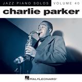 Download Charlie Parker 'Au Privave (arr. Brent Edstrom)' Printable PDF 5-page score for Blues / arranged Piano Solo SKU: 164620.