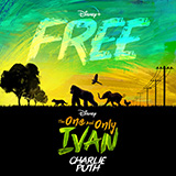 Download or print Charlie Puth Free (from Disney's The One And Only Ivan) Sheet Music Printable PDF 7-page score for Pop / arranged Piano, Vocal & Guitar (Right-Hand Melody) SKU: 478273.