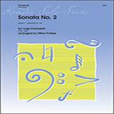 Download Cherubini/ Forbes 'Sonata No. 2 - Solo Trombone' Printable PDF 3-page score for Classical / arranged Brass Solo SKU: 330588.