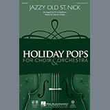 Download Chris Eastburn 'Jazzy Old St. Nick - Bb Clarinet 1' Printable PDF 1-page score for Christmas / arranged Choir Instrumental Pak SKU: 282198.