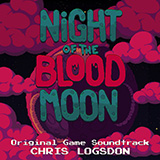Download or print Chris Logsdon Bubblestorm (from Night of the Blood Moon) - Synth Wails Sheet Music Printable PDF 1-page score for Video Game / arranged Performance Ensemble SKU: 444601.