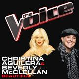 Download or print Christina Aguilera & Beverly McClellan Beautiful Sheet Music Printable PDF 2-page score for Pop / arranged Piano Solo SKU: 170197.