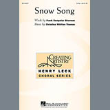 Download or print Christina Whitten Thomas Snow Song Sheet Music Printable PDF 6-page score for Concert / arranged 2-Part Choir SKU: 94824.
