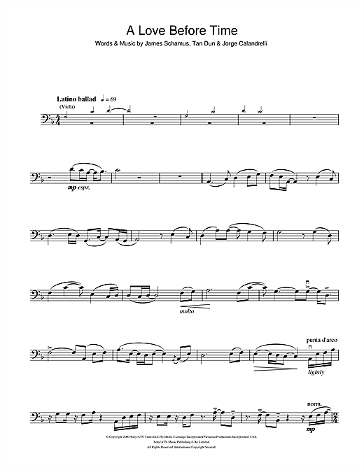 Coco Lee A Love Before Time (from Crouching Tiger, Hidden Dragon) sheet music notes and chords. Download Printable PDF.