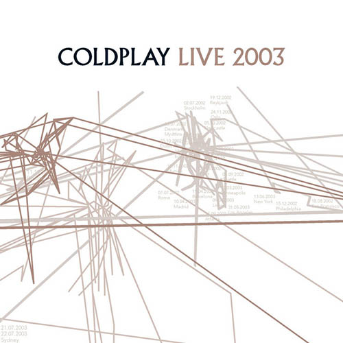 Easily Download Coldplay Printable PDF piano music notes, guitar tabs for Lead Sheet / Fake Book. Transpose or transcribe this score in no time - Learn how to play song progression.