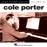 Download Cole Porter 'At Long Last Love [Jazz version] (arr. Brent Edstrom)' Printable PDF 3-page score for Jazz / arranged Piano Solo SKU: 155748.