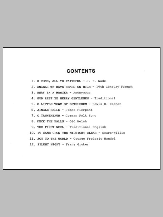 Conley Christmas Carols For Sax Quartet - Eb Baritone Sax sheet music notes and chords. Download Printable PDF.