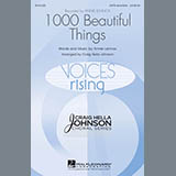 Download or print Annie Lennox 1000 Beautiful Things (arr. Craig Hella Johnson) Sheet Music Printable PDF 18-page score for Festival / arranged SATB Choir SKU: 158213.