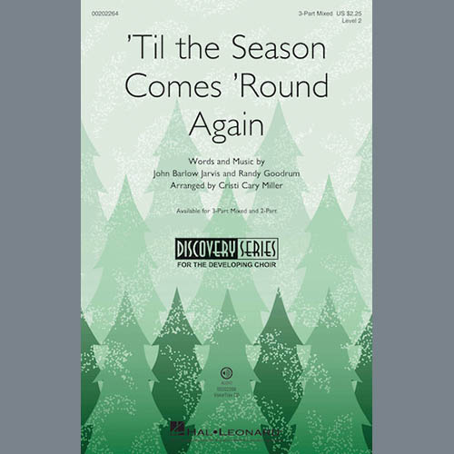Easily Download Cristi Cary Miller Printable PDF piano music notes, guitar tabs for 2-Part Choir. Transpose or transcribe this score in no time - Learn how to play song progression.