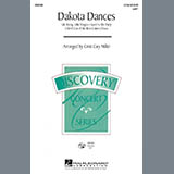 Download Cristi Cary Miller 'Dakota Dances' Printable PDF 9-page score for Children / arranged 2-Part Choir SKU: 415711.