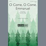 Download or print Cristi Cary Miller O Come, O Come Emmanuel Sheet Music Printable PDF 8-page score for Christmas / arranged 2-Part Choir SKU: 195493.
