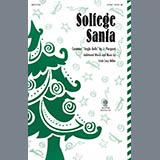 Download or print Cristi Cary Miller Solfege Santa Sheet Music Printable PDF 7-page score for Christmas / arranged 2-Part Choir SKU: 289416.