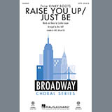 Download Cyndi Lauper 'Raise You Up/Just Be (from Kinky Boots) (arr. Mac Huff) - Guitar' Printable PDF 3-page score for Broadway / arranged Choir Instrumental Pak SKU: 414993.