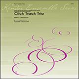 Download or print Dan Fabricius Click Track Trio - Full Score Sheet Music Printable PDF 5-page score for Concert / arranged Percussion Ensemble SKU: 412129.