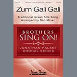 Download Dan Miner 'Zum Gali Gali' Printable PDF 9-page score for Concert / arranged TBB Choir SKU: 410399.
