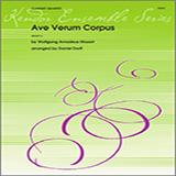 Download Daniel Dorff 'Ave Verum Corpus - Full Score' Printable PDF 4-page score for Classical / arranged Woodwind Ensemble SKU: 339373.