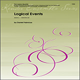 Download or print Daniel Fabricious Logical Events - Full Score Sheet Music Printable PDF 9-page score for Classical / arranged Percussion Ensemble SKU: 351529.