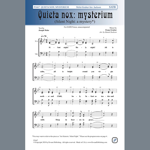 Easily Download Daniel Jackson Printable PDF piano music notes, guitar tabs for SATB Choir. Transpose or transcribe this score in no time - Learn how to play song progression.