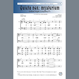 Download Daniel Jackson 'Quieta nox: Mysterium' Printable PDF 4-page score for Christmas / arranged SATB Choir SKU: 450963.