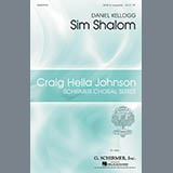 Download or print Daniel Kellogg Sim Shalom Sheet Music Printable PDF 10-page score for A Cappella / arranged SATB Choir SKU: 293472.