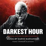 Download Dario Marianelli 'A Telegram From The Palace (from Darkest Hour)' Printable PDF 2-page score for Film/TV / arranged Piano Solo SKU: 125885.