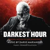 Download Dario Marianelli 'Darkest Hour' Printable PDF 6-page score for Film/TV / arranged Piano Solo SKU: 125880.