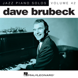 Download or print Dave Brubeck Thank You (Dziekuje) Sheet Music Printable PDF 4-page score for Jazz / arranged Piano Solo SKU: 181218.