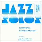 Download or print Dave Mancini Jazz Solos For Drum Set, Volume 2 Sheet Music Printable PDF 24-page score for Jazz / arranged Percussion Solo SKU: 124888.