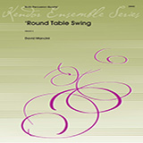Download or print Dave Mancini Round Table Swing - Part 2 Sheet Music Printable PDF 3-page score for Concert / arranged Percussion Ensemble SKU: 373555.