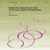 Download or print Dave Mancini Suite For Solo Drum Set & Percussion Ensemble - Full Score Sheet Music Printable PDF 27-page score for Concert / arranged Percussion Ensemble SKU: 368933.