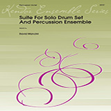 Download or print Dave Mancini Suite For Solo Drum Set & Percussion Ensemble - Percussion 1 Sheet Music Printable PDF 4-page score for Concert / arranged Percussion Ensemble SKU: 368935.