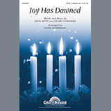 Download or print David Angerman Joy Has Dawned Sheet Music Printable PDF 3-page score for Concert / arranged Choir SKU: 96546.