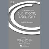Download David Brunner 'Sun, Moon, Stars, Rain' Printable PDF 15-page score for Concert / arranged SATB Choir SKU: 70464.