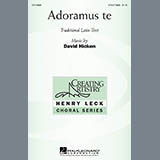 Download or print David Hicken Adoramus Te Sheet Music Printable PDF 14-page score for Latin / arranged 3-Part Treble Choir SKU: 269657.