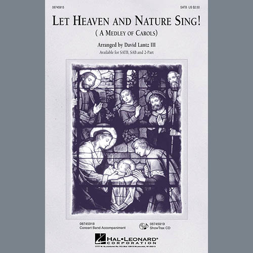 Easily Download David Lantz III Printable PDF piano music notes, guitar tabs for Choir Instrumental Pak. Transpose or transcribe this score in no time - Learn how to play song progression.