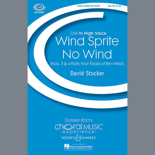 Easily Download David Stocker Printable PDF piano music notes, guitar tabs for SSA Choir. Transpose or transcribe this score in no time - Learn how to play song progression.