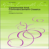 Download or print David Uber Ceremonial And Commencement Classics - 1st Trombone Sheet Music Printable PDF 4-page score for Graduation / arranged Brass Ensemble SKU: 342872.
