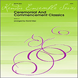 Download or print David Uber Ceremonial And Commencement Classics - Trombone Sheet Music Printable PDF 4-page score for Graduation / arranged Brass Ensemble SKU: 342762.