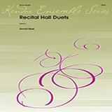 Download David Uber 'Recital Hall Duets' Printable PDF 11-page score for Concert / arranged Brass Ensemble SKU: 373515.