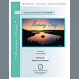 Download or print David Von Kampen Morning Song Sheet Music Printable PDF 4-page score for Poetry / arranged Piano & Vocal SKU: 469524.