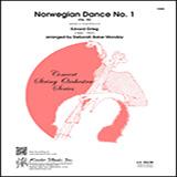Download Deborah Baker Monday 'Norwegian Dance No. 1 (Op. 35) - Bass' Printable PDF 3-page score for Classical / arranged Orchestra SKU: 381371.