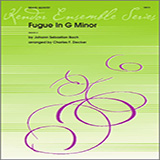 Download or print Decker Fugue in G minor - Horn in F Sheet Music Printable PDF 1-page score for Classical / arranged Brass Ensemble SKU: 322238.