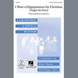 Download or print Deke Sharon I Want A Hippopotamus For Christmas (Hippo The Hero) Sheet Music Printable PDF 7-page score for A Cappella / arranged SATB Choir SKU: 71392.