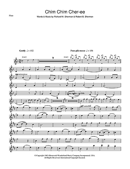 Dick Van Dyke Chim Chim Cher-ee (from Mary Poppins) sheet music notes and chords. Download Printable PDF.
