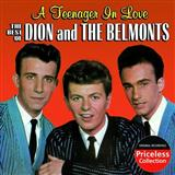 Download or print Dion & The Belmonts A Teenager In Love Sheet Music Printable PDF 1-page score for Pop / arranged ChordBuddy SKU: 166047.