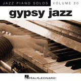 Download or print Django Reinhardt Crepuscule (arr. Brent Edstrom) Sheet Music Printable PDF 4-page score for Jazz / arranged Piano Solo SKU: 90126.
