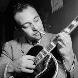 Download or print Django Reinhardt Nuages Sheet Music Printable PDF 1-page score for Jazz / arranged Real Book – Melody & Chords – Bass Clef Instruments SKU: 62182.